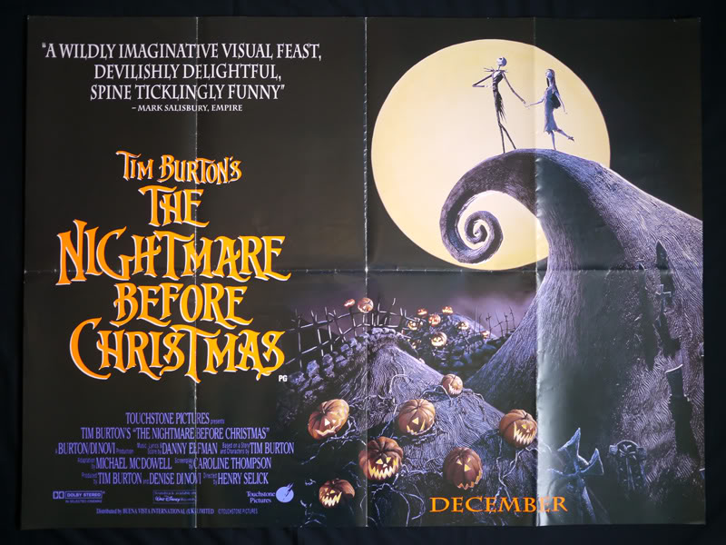 Book People Talk Movies: The Nightmare Before Christmas - Bring My ...
